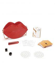 Secret Kisses Rouge Set (4 Pieces) - Red/Gold