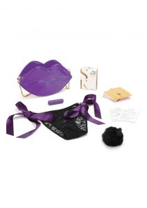 Secret Kisses Violet Set (4 Pieces) - Purple/Gold