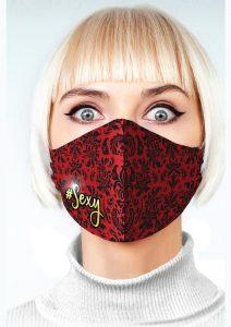 Super Sexy #Sexy Mask - Red/Black