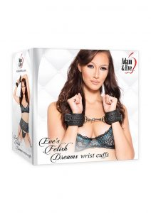 Adam andamp; Eve Eve`s Fetish Dreams Wrist Cuffs - Black