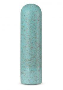 Gaia Eco Rechargeable Bullet Vibrator - Aqua