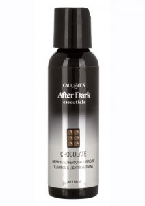 After Dark Essentials Water-Based Flavored Personal Warming Lubricant Chocolate 2oz
